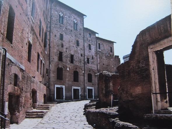 Trajanuksen kauppahallit kesällä 2008