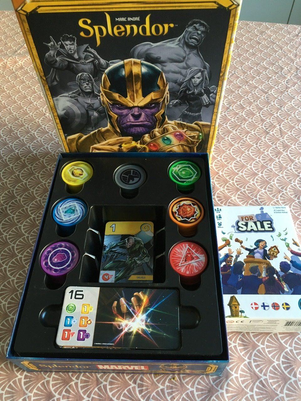 Uusi klassikko, vanha klassikko – Testissä Splendor Marvel ja For Salen uusin painos